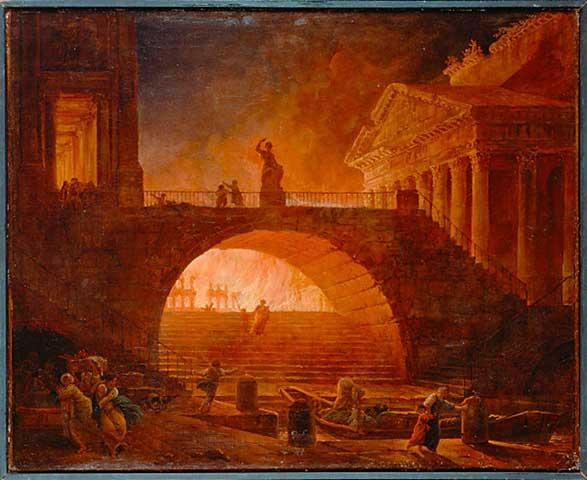 Rome and the Great Fire of 64 AD