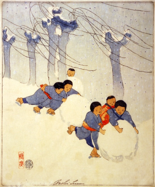 'Snow Balls' Bertha Boynton Lum 1913 {{PD-Art}}