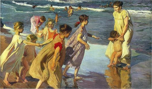 'Summer' by Sorolla 1904 {{PD-Art}}