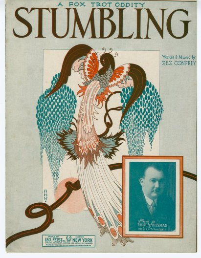 There's even special music to stumble to! Sheet music from 1922 {{PD}}