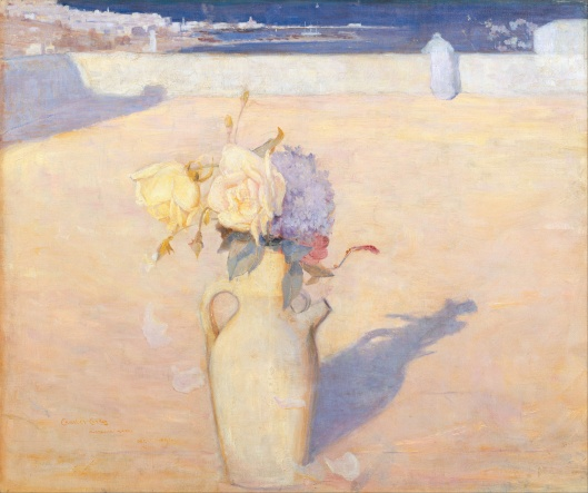 'The Hot Sands, Mustapha, Algiers' by Charles Conder 1891 {{PD-Art}}