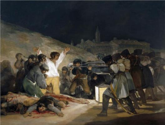 'The Third of May 1808' Francisco Goya 1814 {{PD-Art}}