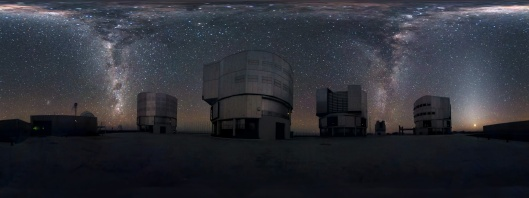 'Cascading Milky Way' European Southern Observatory  S.Brunier Creative Commons Attribution 3.0 Unported