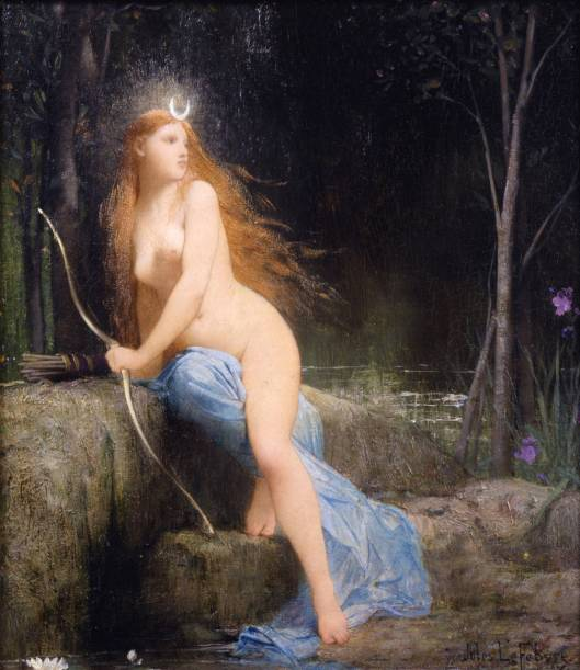 'Diana' by Lefebvre 1879 {{PD-Art}}
