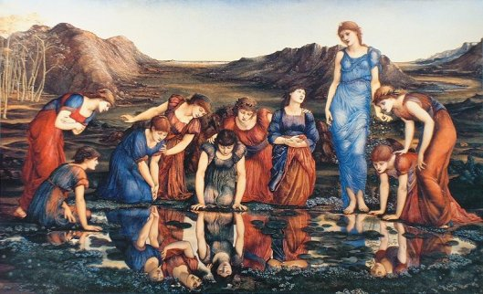 'Mirror of Venus' Edward Burne-Jones {{PD-Art}}