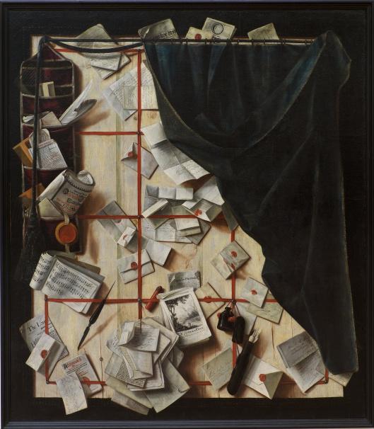 Trompe l'oeil by Gijsbrechts {{PD-Art}}
