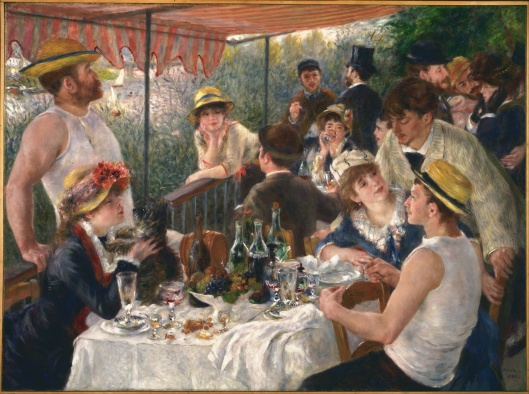 Renoir's 'Luncheon of the Boating Party' c1880 {{PD-Art}}