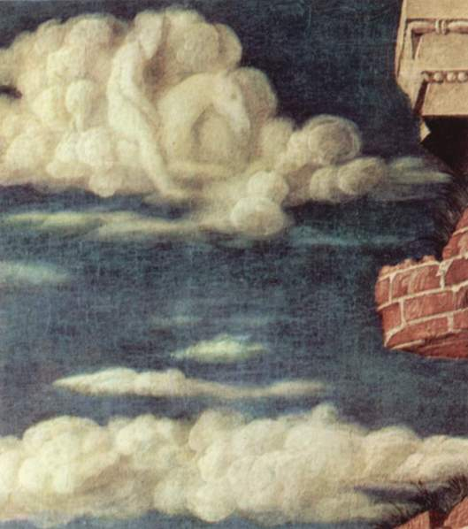 'Heaven' (detail) from the work of Andrea Mantegna c1470 {{PD-Art}}