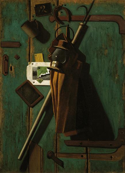 'Fish House Door' John Peto 1905 {{PD-Art}}