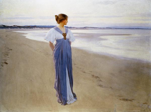 'The Seashore' Wm H Margetson 1900 {{PD-Art}}