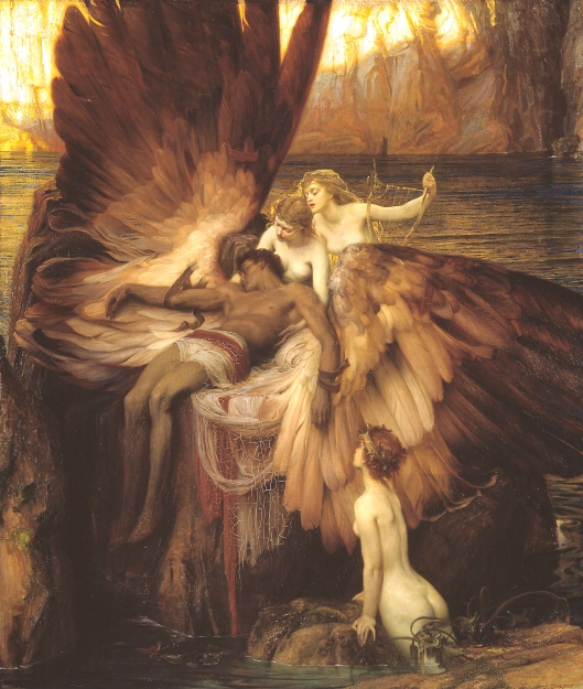 This weekend it may be the strongest, most powerful people who will weep the most. 'The Lament for Icarus' HJ Draper 1898 {{PD-Art}}