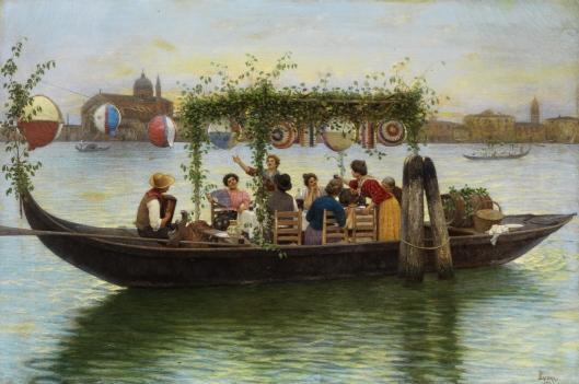 'Al Festa del Redentore' Luigi Pastega 1904 {{PD-Art}}