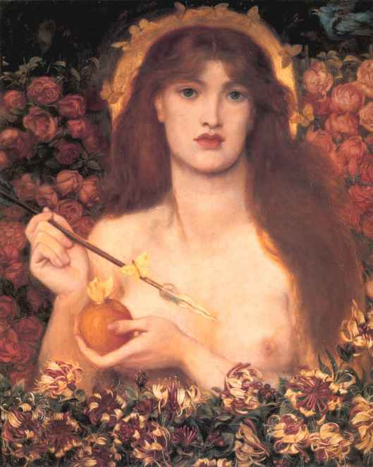 'Venus Verticordia' Venus, Changer of Hearts by DG Rossetti 1866 {{PD-Art}}
