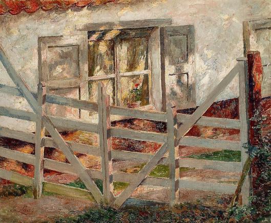 'The Gate' Emile Claus 1899 {{PD-Art}}