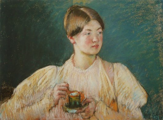 Have a cup of tea, and sort out those feelings during Mercury retro. 'The Glass of Tea' Mary Cassatt 1897 {{PD-Art}}