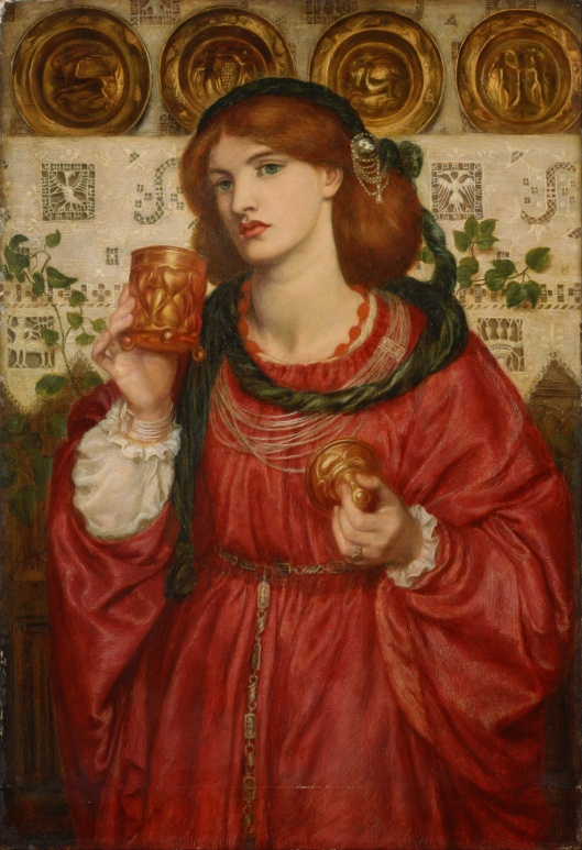'The Loving Cup' by Rossetti 1867 {{PD-Art}}