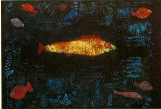 Paul Klee 'The Golden Fish' {{PD-Art}}