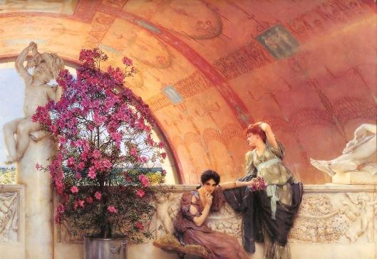 'Unconscious Rivals' Lawrence Alma-Tadema 1893 {{PD-Art}}