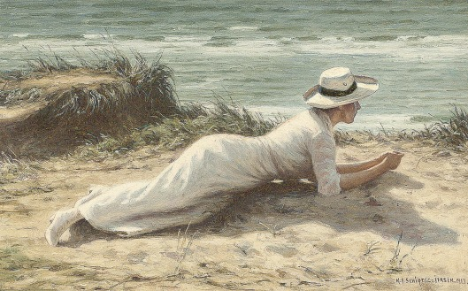'Summer on the Dunes'NF Schiottz-Jensen 1913 {{PD-Art}}