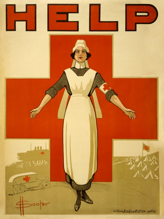 Red Cross poster c1916 {{PD}}