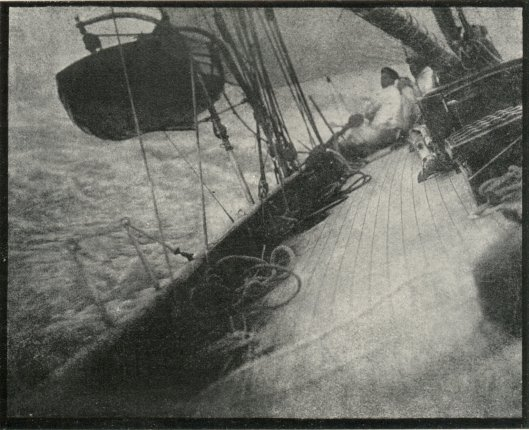 'To Leeward' Photograph by Malcolm Arbuthnot 1908 {{PD}}