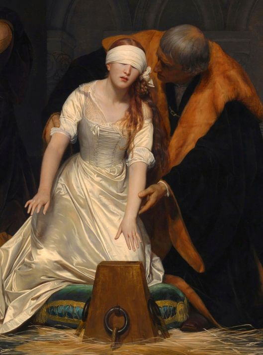 Isn't it time to get rid of what just isn't working for you? 'The Execution of Lady Jane Grey by Delaroche 1833 {{PD-Art}}