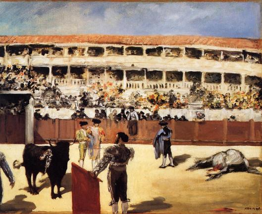 'The Bullfight' Edouard Manet c1866 {{PD-Art}}