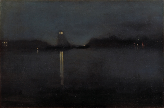 'Nocturne' by James Abbott McNeil c1874 {{PD-Art}}
