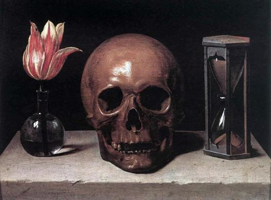 'Still-Life with Skull' Philippe de Champaigne 17th century {{PD}}