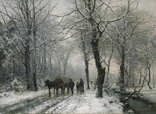 'As Evening Falls' Anders Andersen-Lundby 1882 {{PD}}