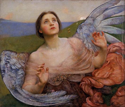 'The Sense of Sight' Annie Louisa Swynnerton 1895 {{PD}}