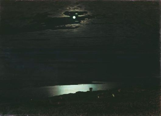 'Moonlit Night on the Dnieper' Arkhip Kuindzhi 1882 {{PD}}