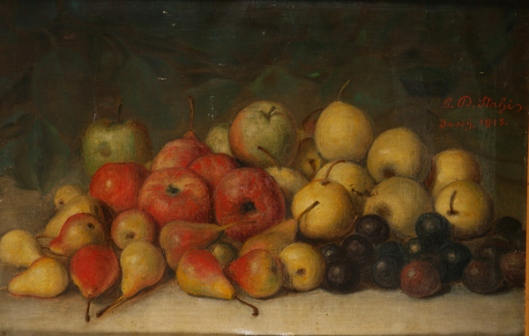 'Still Life with Fruit' Constantin Daniel Stahi 1915 {{PD}}