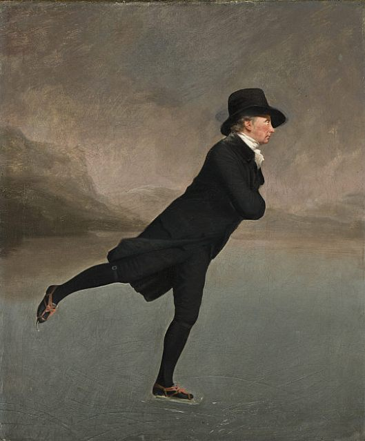 'The Skating Minister' Henry Raeburn c1790 {{PD}}