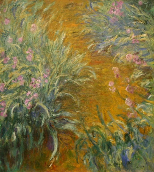 'The Path Through the Irises' Claude Monet {{PD}}