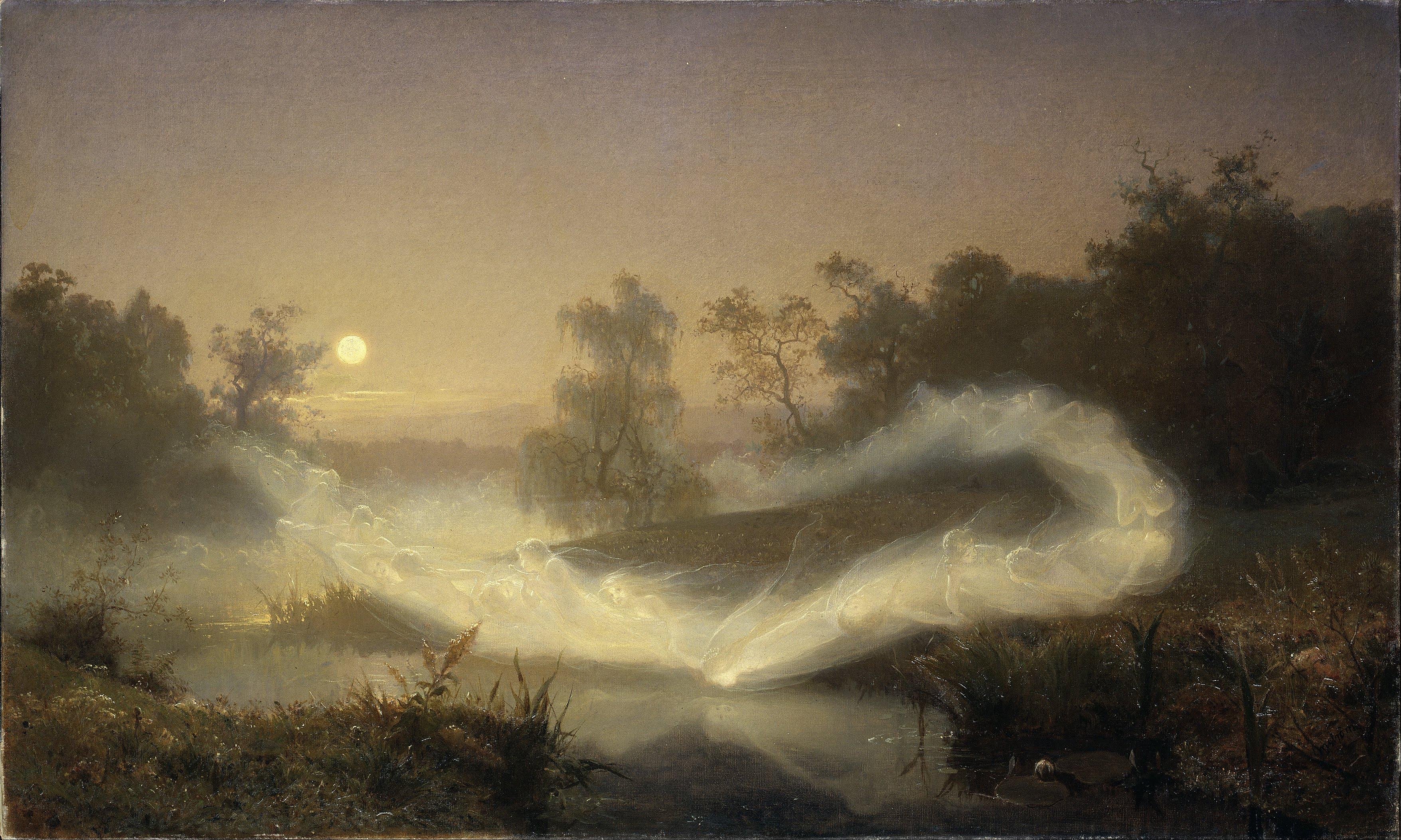 'Dancing Fairies' August Malmström 1866 {{PD}}