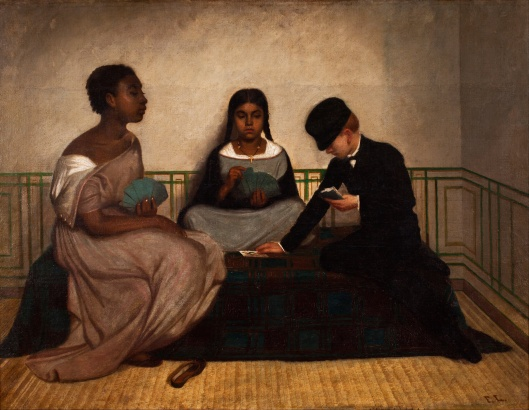 'The Three Races or Equality before the Law' by Francisco Laso 1859 {{PD}}