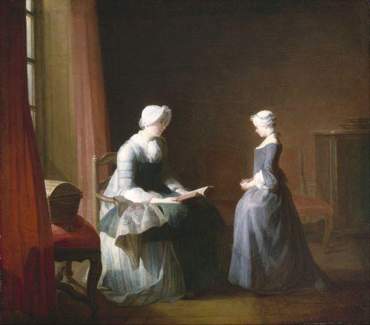 Jean-Siméon Chardin, (1699 - 1779) (French)