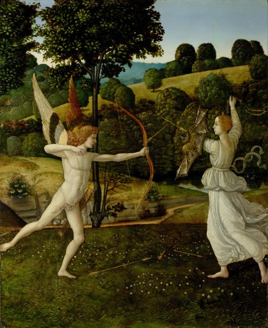 'Combat of Love and Chastity' by Gherardo di Giovanni di Miniato c1475 {{PD}}