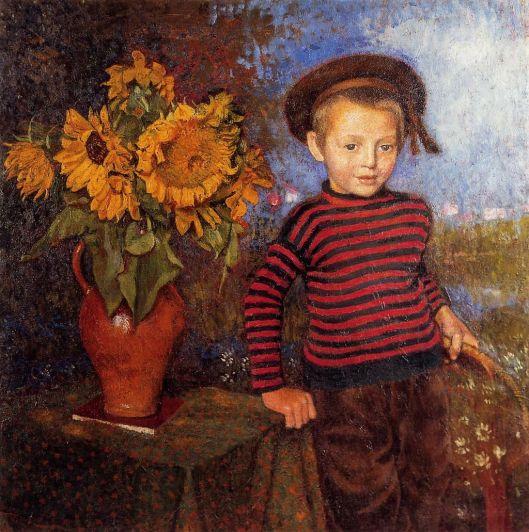 'Little Pierre' Georges Lemmen {{PD}}