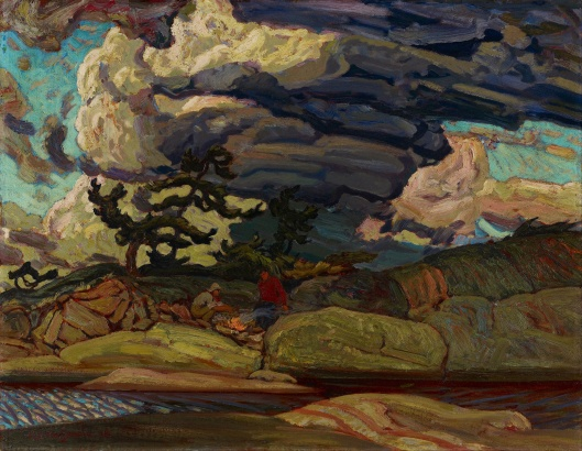'The Elements' J.E.H. MacDonald 1916 {{PD}}