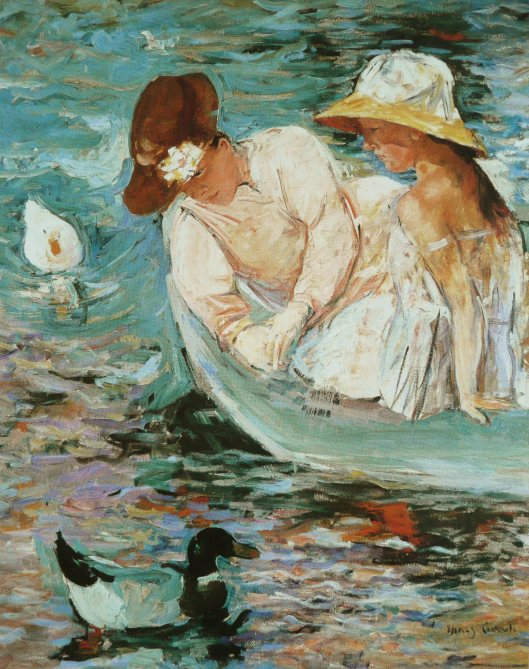 'Summertime' Mary Cassatt 1894 {{PD}}