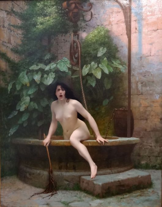 We never know what may come from the well of the personality, do we? Jean Léon Gerome 1896 La Vérité sortant du puits {{PD}}
