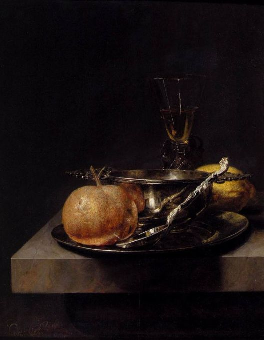 'Still Life with Silver Cup' Cornelis Kick {{PD}}