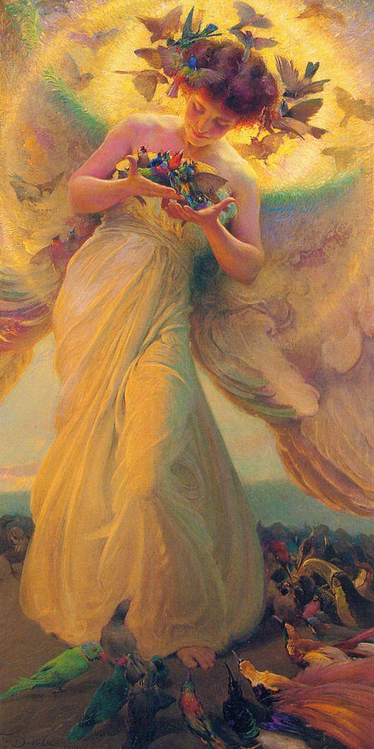'Angel' Franz Dvorak {{PD}}