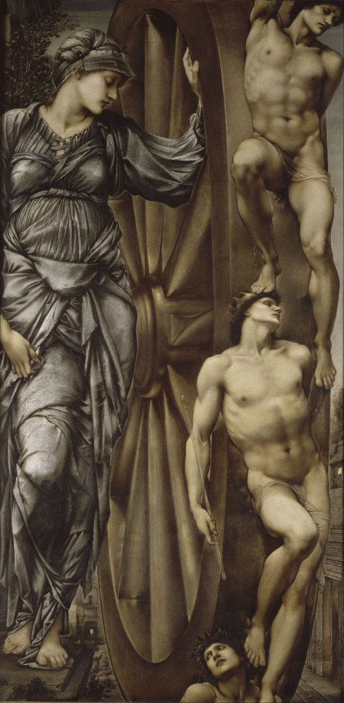 'The Wheel of Fortune' Edward Burne-Jones {{PD}}