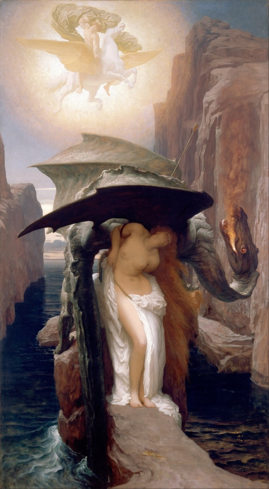 'Perseus and Andromeda' Frederic, Lord Leighton {{PD}}