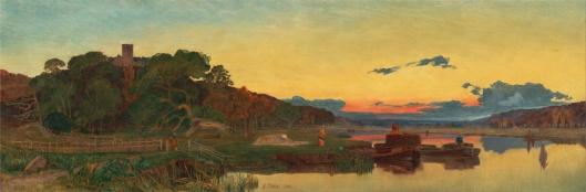 'Whitlingham, Norflok' Frederick Sandys 1860 {{PD}}