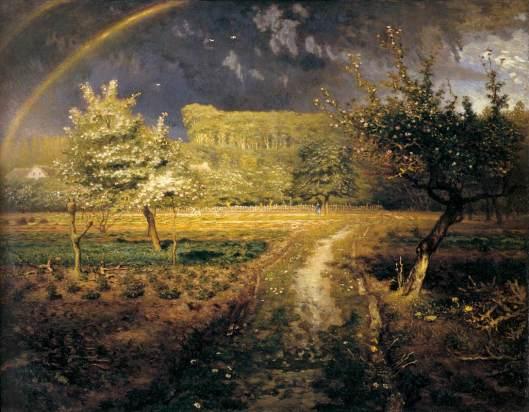 'Spring' Jean-François Millet c1870 {{PD}}