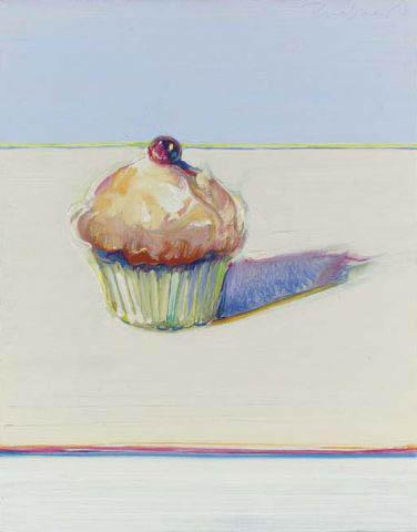 'Cupcake' Wayne Thiebaud cc3.0